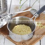 charms hot sale stainless steel food warmer pot milk pot