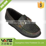 Famous Design Casual Fashion PU Leather Teenage Boys Child Boat Shoes
