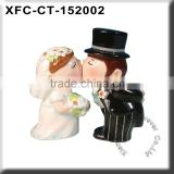 standing kissing bride and groom cake topper figurine wholesale