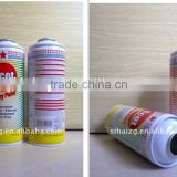 Guangzhou manufacturer Diam.65mm empty printing packaging aerosol can for chemical industry