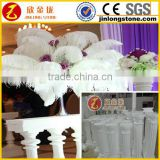 White Romantic Decorative Roman Wedding Pillars