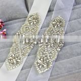 Wholesale garment accessories bridal dress rhinestone bridal sashes belt                                                                         Quality Choice