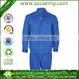 65% Polyester 35% Cotton Women's Sky Blue Motor Repair Worker Factory Uniform