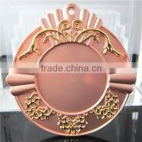 Hot Sale Metal Sport Medal / Copper and Gold Plated Zinc Alloy Medal / Normal Size Blank Medal
