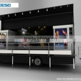 2013 Modified LED advertising van for president election,stage show,product promotion,outdoor public activities