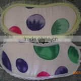 cotton eye mask with latest designs/promotional sleeping eye mask for kids/personalized sleeping mask