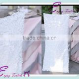 YHC#78 white sequin chair back cover polyester banquet wedding wholesale cheap chiavari chair cover