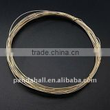 Brass Wire, 14K Gold-Filled, about 0.7mm, 4.5m/roll(CWIR-Q004-1)