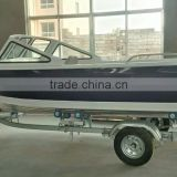 Aluminum speed boat