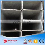Rectangular Steel Tubing Sizes/ Hollow Section/galvanized rectangular tubing/hot dip Rectangular Pipe