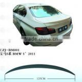 abs car rear spoiler for BMW 5' 2011