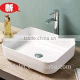 2015 FOSHAN newest super thin edge art cerami basin lavatory bowl sink bathroom vanity Italy style counter top wash basin