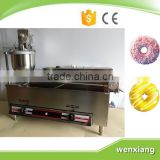 Electric and gas donut making frying machine with 3 sizes moulds                                                                         Quality Choice