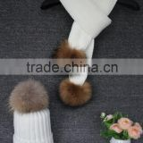 Women's Real Genuine Raccoon Fur Scarf/Shawl/Wrap Neck Warmer