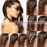 Wholesale selling jewelry Africa trench head hip hop style hair dreadlocks movement cheap fashion hip hop hairpin