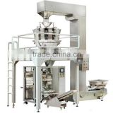 Vertical packing machine, vertical packaging machine, vertical form fill seal machine with 10 heads weigher