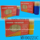 CLEANNING BAMBOO TOOTHPICKS WITH BOX CASE CONTAINER