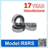 R8 ZZ RS Miniature Ball Bearing Deep Groove Ball Bearing