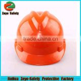 CE Certificate HDPE Or ABS Material Construction worker safety helmet