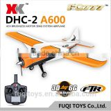 Wltoys XK A600 5CH 2.4GHz Compatible Futaba RC AIRPLANE 3D lock mode fixed wing RC plane RTF