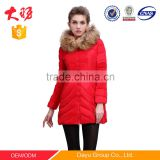 New Fashion Winter Women 90% Down FeatherJacket Coat Lady's Long Coat brand name stock