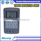 INQUIRY ABOUT Micsig ME2000I Railway track mechanical insulated joint tester,rail isolated joint tester