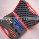 MC3 MC4 solar PV tyco connectors combination tool kit,multi-functional hand tool set hardware tools kit A2546-5D2