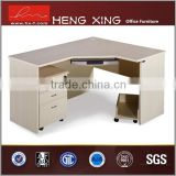 Home office furniture L-shape home office desk computer desk with assembly instructions