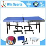 foldable tenis pingpong table space saver