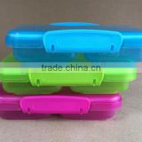 Plastic snack box divided 350ml Plastic clip lock storage container 350ml #TG10916
