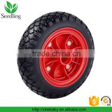 Direct factory Hot wheels rubber tyres, rubber wagon wheels, 8 inch rubber wheels for wagons
