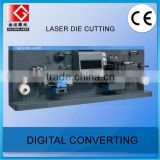 Digital Laser Label Die Cutting Machine for Roll Label