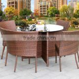 2016 Hote Selling Outdoor Rattan Wicker Bistro Set Patio Furniture Set