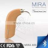 Auto Fitting Bluetooth Digital BTE Hearing Aids ,APP control from smartphone Hearing amplifier,PSAP