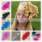 Baby Head Wrap Bow Top Knot Big Bow Headwrap Baby Headband Floppy Bow Headband Big Bow Headband Top Knot Headwear in Stock