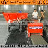 Shuangli lightweight precast concrete hollow core slab molding machine; prestressed hollow core wall panel extruder