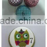 Factory Custom Private Label Wonderful Greaseproof Paper Cupcake Liners Muffin Cases Baking Cups For All Caterings