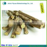 Dried licorice root stick, licorice root slice and Radix Glycyrrhizae