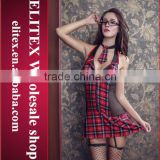 2015 Wholesale high school uniform sex costume hot sex image girl