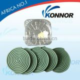 China KONNOR Chemical 130mm Green Smokeless Mosquito Coils