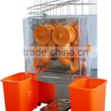 commercial automatic stainless steel orange juice machine ,electric citrus juicer for sale