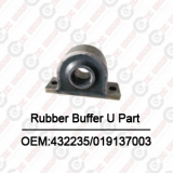 Putzmeister Rubber Buffer U Part OEM:432235/019137003 For Putzmeister Concrete Pump Spare Parts