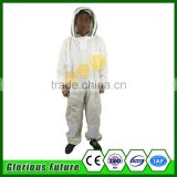 China wholesale supplies ultra breeze 3 layer bee suit/vented beekeeping suit