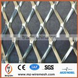 2014 hot sale heavy duty black galvanized expanded metal mesh for barbecue plate mesh and scaffold mesh