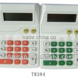 Good selling logo printed plastic electronic desktop calculator