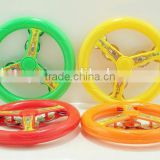 Lovely Cartoon Plastic Tambourine Hand Bell Toy Novel Design Tambourine For Kids