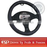 #19592 38cm diameter Genuine Leather Cool Steering wheel cover