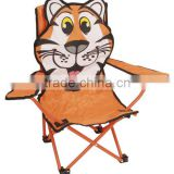 Kids Foldable Camping Chair With Armrest
