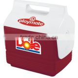 USA Made Igloo Playmate Mini Cooler - 4 quart (6 can capacity), has tent-shaped locking lid and is great for lunches