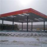 Big Standard Petroleum Gas Station With Canopy Construction